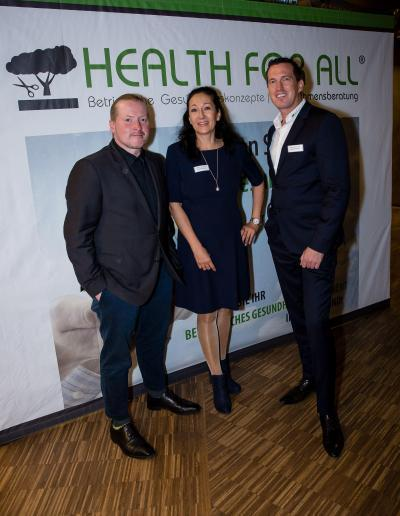 Joey Kelly, Silvana & Marco Scherbaum HEALTH FOR ALL