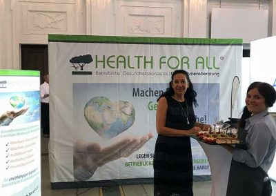 HEALTH FOR ALL-Stand Regentenbau Bad Kissingen
