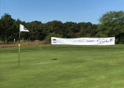 HEALTH FOR ALL®Sponsor Bahn 15 Golfclub Kitzingen