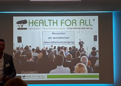 KeyNote HEALTH FOR ALL® Personalerforum 2019-09-21_Revolution der betrieblichen Gesundheitsversorgung_1