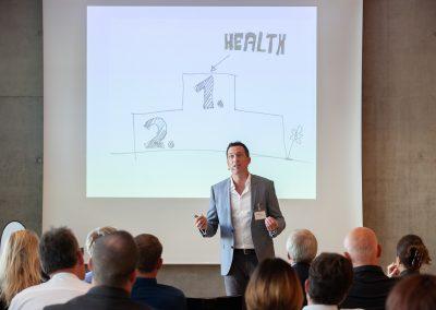 Keynote Marco Scherbaum HEALTH FOR ALL® Gesundheit für alle