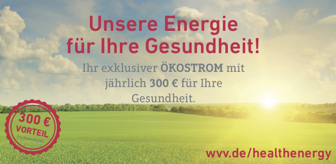 HEALTH energy® Stadtwerke Würzburg AG HEALTH FOR ALL