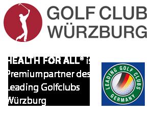 HEALTH FOR ALL® Premiumpartner Golf Club Würzburg