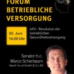 AssCompact Wissen 2021 Keynote Senator h.c. Marco Scherbaum_Health for all_Revolution der betrieblichen Gesundheitsversorgung