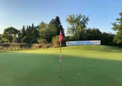Grün Loch 18 Golfclub Würzburg HEALTH Cup 2021