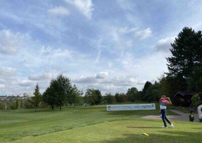Abschlag Tee1 Golf Club Würzburg HEALTH Cup 2021