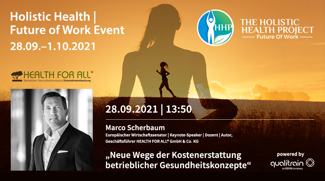Holistic Health Project mit HEALTH FOR ALL